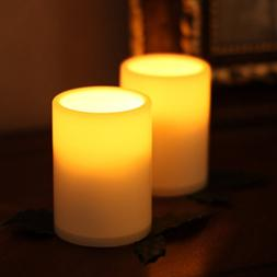 Smart Flameless Tealights Led Candle Lights W/Timer For Birt