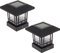 Westinghouse Solar 20 Lumens 4x4 Post Light for Wood Posts B