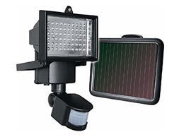 GUARDIAN Solar 60LED PIR Motion Sensor Security Light Floodl
