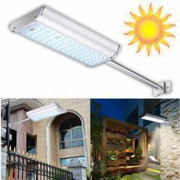 Solar 70 LED Motion Sensor Light Outdoor Garden Path Street