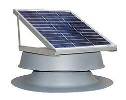 Natural Light Solar Attic Fan System