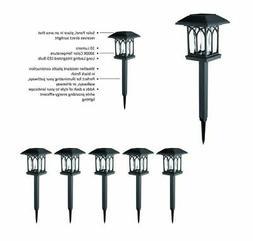 Solar Black LED 10 Lumens Path Light 5 Pack Portfolio Bright