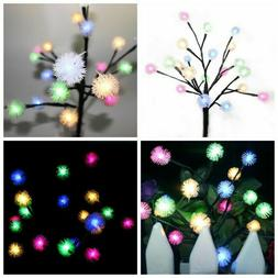 Solar Blossom Flowers LED Lights For Garden Patio Backyard S