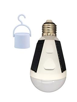 OALUX 12W Solar LED Bulb Portable Emergency Light Rechargeab