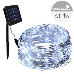 Solarmks Solar Christmas String Lights 150LED 72ft Copper Wi
