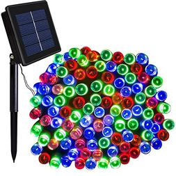 Solar Christmas Lights Solarmks 2 Pack Solar String Lights 7