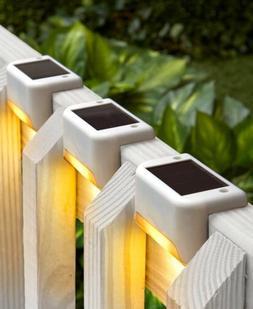 Solar Deck Lights Porch Patio Steps Yard Outdoor Lighting Ho