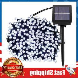 Solar Fairy String Lights 72ft 200 LED Waterproof for Indoor