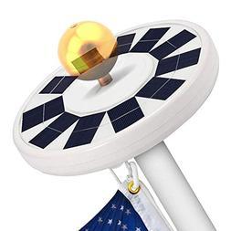 Solar Flag Pole Light- LBell 30 LED Flag Pole Lights Solar P