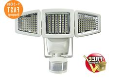 Solar Flood & Security Lights Triple Head Motion Activated 1