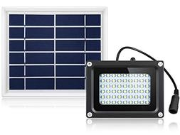 Solar Flood Lights Outdoor 54 LED 500 Lumens Waterproof Sola
