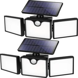solar flood lights outdoor 226 led 3