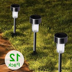 Stripsun LED Solar Garden Lights,  Stainless Steel Outdoor S