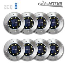 Solar Ground Lights,Garden Pathway Outdoor In-Ground Lights