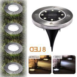 Solar Ground Lights,Garden Pathway Outdoor Warm White 3000K