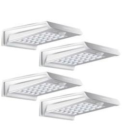 InnoGear Solar Gutter Lights 4 Pcs Led Outdoor Waterproof Mo