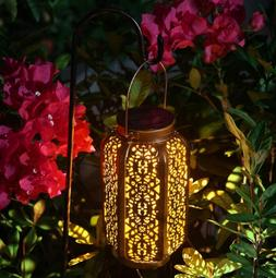 Solar Lantern Outdoor Lights for Decorative Atmosphere Hangi