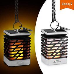 Solar Lanterns, Famirosa Waterproof Solar Hanging Lantern Ou