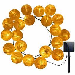 AMIR Solar LED Lantern String Lights, 20 LED 16ft Length, St