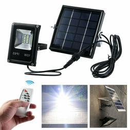 Solar LED Light Sensor Flood Spot Lamp Garden Lawn Outdoor S