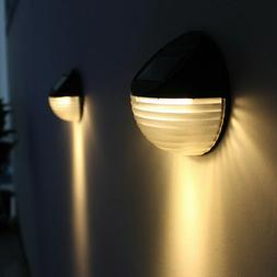 Solar LED Lights Motion Sensor Outdoor Wall Light Waterproof