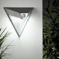 GIGALUMI SOLAR LED OUTDOOR MOTION LIGHT 3-SIDE ILLUMINATION