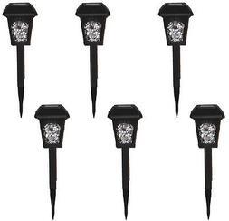 Westinghouse Solar LED Path Garden Lights  Lantern Style Bla