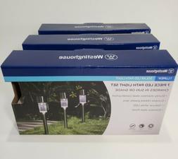 Westinghouse Solar LED Path Lights 21 pk Landscape Stainless
