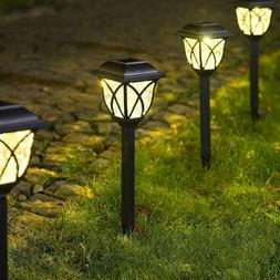 Solar LED Pathway Lights Waterproof for Landscape,Garden,Wal