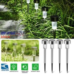 Solar Lawn Outdoor Path Light Spot LED Lamp Garden Pathway L