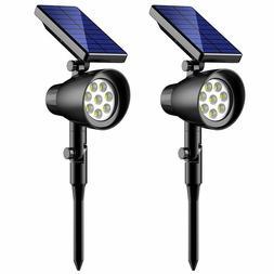 InnoGear Solar Light 8 LED Wireless Waterproof Solar Spotlig