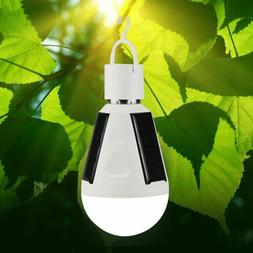 LED Solar Light Bulb 7W E27 Tent Camping Solar Powered Lamp