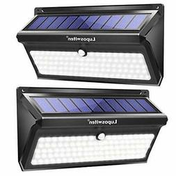 Luposwiten 100 LED Solar Lights Outdoor, 2000 Lumens Waterpr