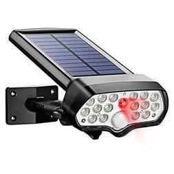 Litom Solar Lights Outdoor 17 LEDs, Safety & Security Solar