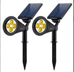 Solar Lights URPOWER 2-in-1 Waterproof LED Solar Spotlight A