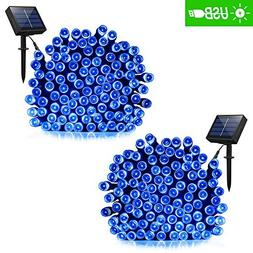addlon Solar Lights Outdoor 72ft 200 LED Fairy Lights, Ambia