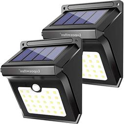 Luposwiten Solar Lights Outdoor 28 LEDs Motion Sensor Wirele