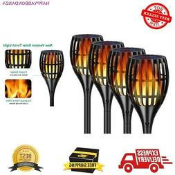 Solar Lights 2nd Version Flickering Flame Torches Light Wate