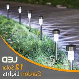 Sunnest 12Pack Solar Lights Outdoor, Outdoor Garden Lights,