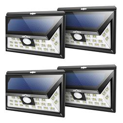 LITOM 24 LED Solar Lights Outdoor, 3 Optional Modes Wireless