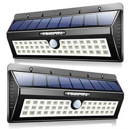 URPOWER Solar Lights, 44 LED Waterproof Motion Sensor Lights