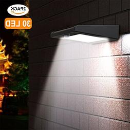 Solar Lights, Xfelectronics 30 LED Solar Motion Sensor Light