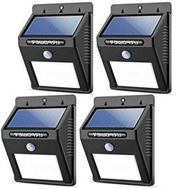 URPOWER Solar Lights 8 LED Wireless Waterproof Motion Sensor