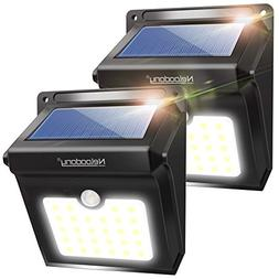 Solar Lights Outdoor, Wireless 28 LED Motion Sensor Solar Li