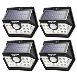 Mpow Solar Lights Outdoor, Bright 20 LED Motion Activated Li