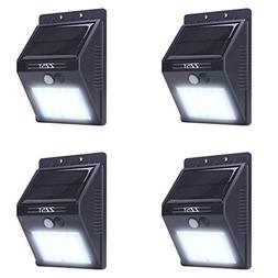 Solar Lights,ZZSY 20 LED Outdoor Solar Powered,Wireless Wate