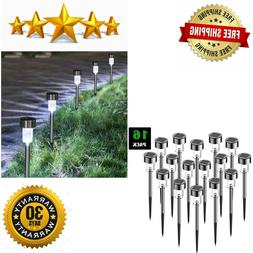 SURSUN Outdoor -Solar Powered Pathway Bright White-Landscape