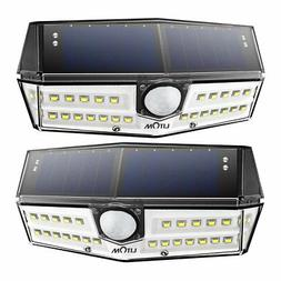 LITOM 30 LED Solar Lights Outdoor, Enhanced IP67 Waterproof