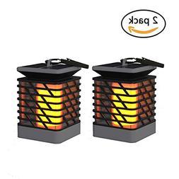 Espier Solar Lights Outdoor LED Flickering Flame Torch Light