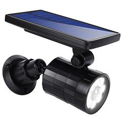 Solar Lights Motion Sensor Outdoor, 800lumens 2 in 1 Solar W